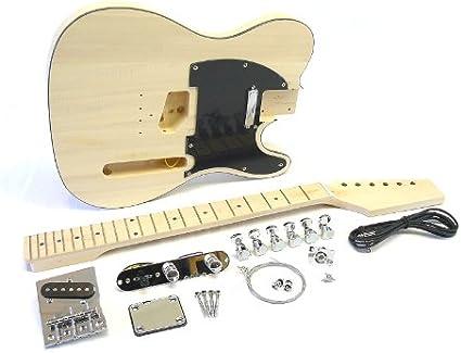 s de guitarras de montar/Guitar DIY Kit