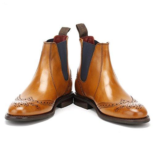 Loake Hoskins Herre Brogue-støvler Chelsea Brun bd1ewW