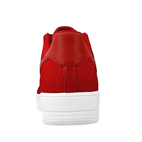 Nike Af1 Ultra Flyknit Low Prm, Zapatillas de Deporte Para Hombre Rojo