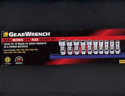 Socket Wrench 10-Piece Set (Silver) - 4