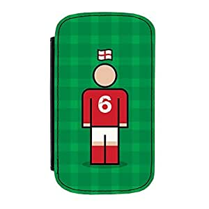England 6 Premium Faux PU Leather Case Flip Case for Samsung Galaxy S4 by Blunt Football International + FREE Crystal Clear Screen Protector