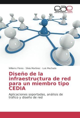 Diseño de la infraestructura de red para un miembro tipo CEDIA: Aplicaciones soportadas, análisis de tráfico y diseño de...
