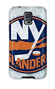 Quality DanRobertse Case Cover With New York Islanders Hockey Nhl (50) Nice Appearance Compatible With Galaxy S5