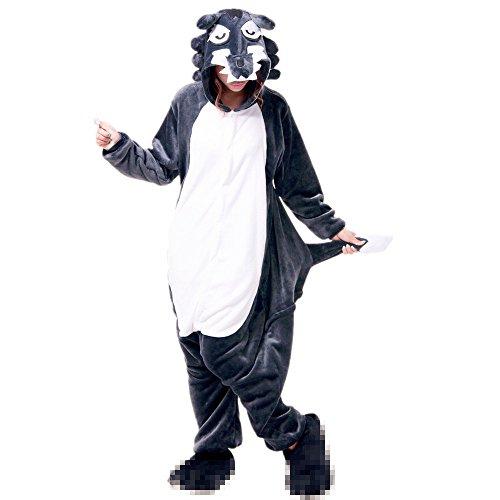 Misslight Unicornio Pijamas Animal Ropa de dormir Cosplay Disfraces Kigurumi Pijamas para Adulto Niños Juguetes y Juegos (L, Lobo): Amazon.es: Juguetes y ...