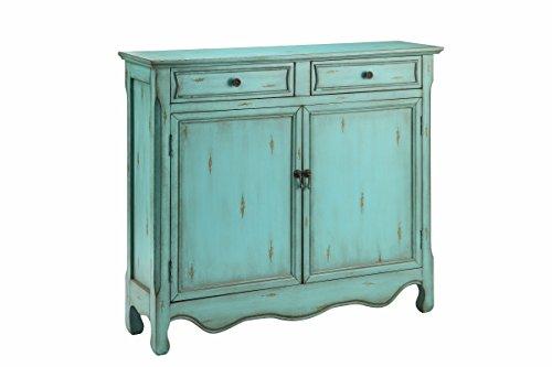 Stein World Furniture 2 Door Cupboard, Light Blue
