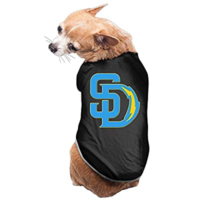 NORAL San Diego Sports Logo Mixed Pet Doggy Awesome Shirt Black