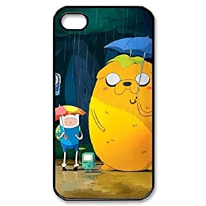 SUUER finn and jake Custom Hard Case for iPhone 4 4s Durable Case Cover