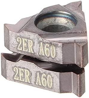 PIKA PIKA QIO 2ST 11ER A60 Carbide Threading Einsätze Außendrehen Halter-Werkzeug-Einsätze Drehwerkzeuge