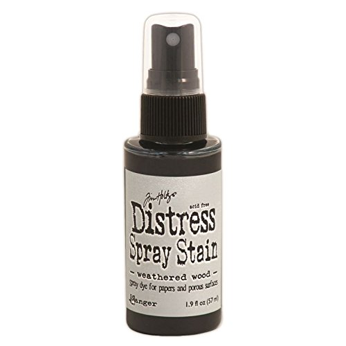 Ranger Tim Holtz Distress Spray Stains Bottles, 1.9-Ounce, Weathered Wood