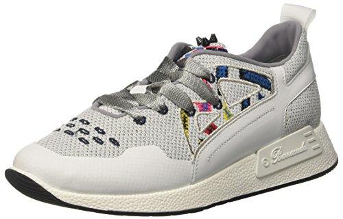 47d Bianco A Sneaker Donna Basso Barracuda Bd0723 Collo a0x18fq