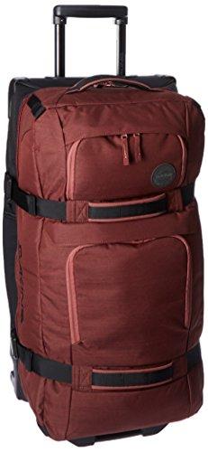Unisexs Travel Bag Backpack Polyester Outdoor Backpack (Rose red) - 6