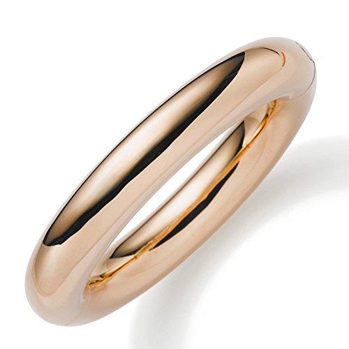 Bracelet 14 mm en véritable or 585 or brillant lisse les bracelets bracelet