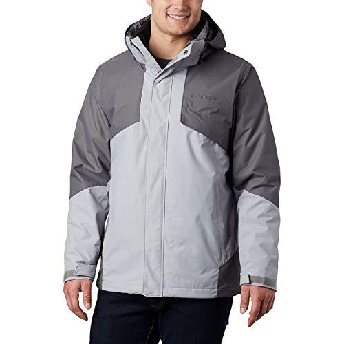 Columbia Men's Bugaboo Ii Fleece Interchange Jacket, Columbia Grey/City Grey, Small