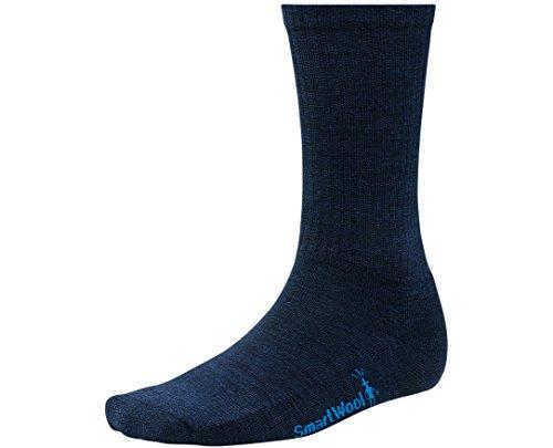 SmartWool Men's Heathered Rib Socks (Deep Navy Heather) X-Large (Socks Rib)