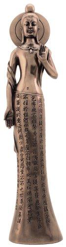 Abstract Modern Quan Yin Statue - Cast Bronze Figurine
