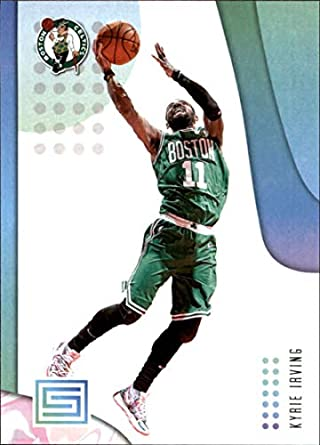 e4d5547c5fe75 Amazon.com: 2018-19 Panini Status NBA Basketball Card #78 Kyrie ...