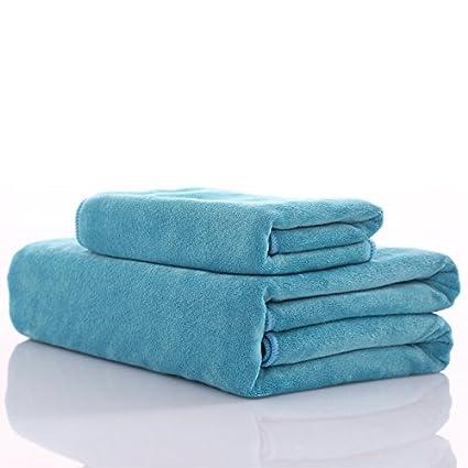 Juego de toallas y toalla de baño crema muy suave y absorbente, 500 g/