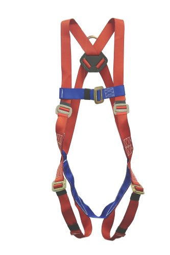 Elk River 53102 Polyester Freedom EZE-Fit 1 D-Ring Harness with Adjustable shoulder straps, Fits Small to Large by Elk River