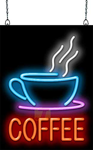 Coffee with Cup Neon Sign ()