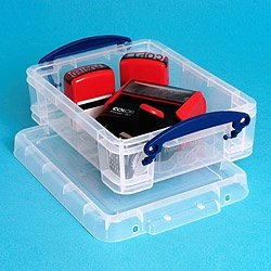 1.75 litre Really Useful Box various colours (Clear)