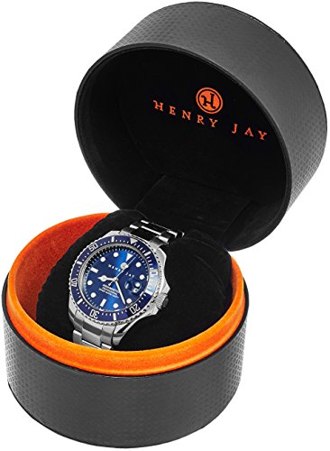 Henry Jay Mens Stainless Steel Specialty Aquamaster Import It All
