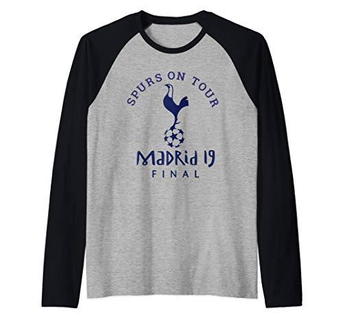 Vintage Spurs Soccer Jersey Tottenham European Gift Raglan Baseball Tee