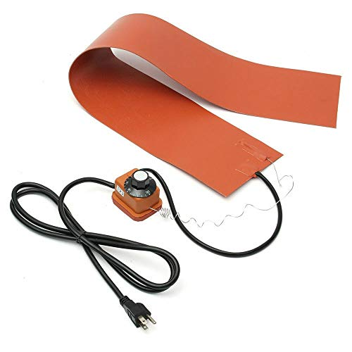 (Adoner 1200W Silicone Rubber Heating Blanket for Guitar Side Bending With Controller US)