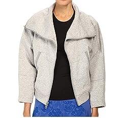 Adidas By Stella Mccartney Women S We Fleece S15157 Pearl Grey Heather Lg