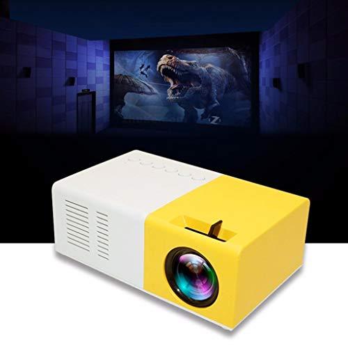 Sixcup Mini Projector Tragbarer LED Overhead Beamer,Full HD 1080P Multimedia Heimkino Kompatibel mit TV-Boxen,PCs…