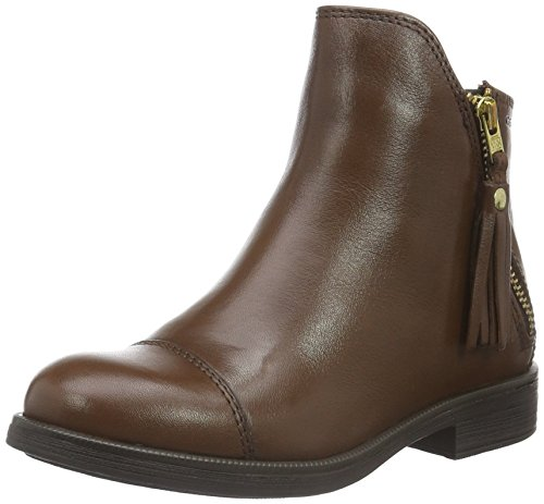 Agata Geox C tobaccoc6777 Jr Bottes Fille Marron xvnp8wOqS