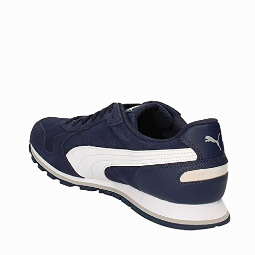 Puma Unisex Adults' St Runner Sd Running Shoes, Black, 9 UK Peacoat/White