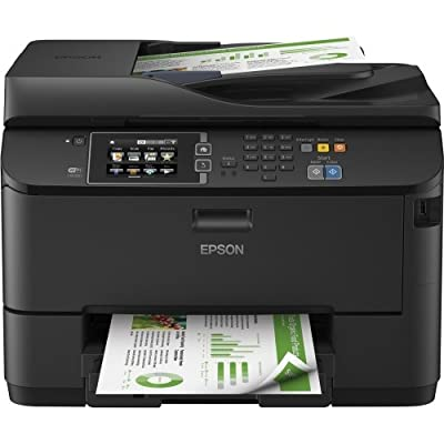Epson Workforce Pro Wf. 4630 Inkjet Multifunction Printer . Color . Plain Paper Print . Desktop . Copier/Fax/Printer/Scanner . 20 Ppm Mono/20 Ppm Color Print (Iso) . 4800 X 1200 Dpi Print . Touchscreen Lcd . 2400 Dpi Optical Scan . Automatic Duplex Print