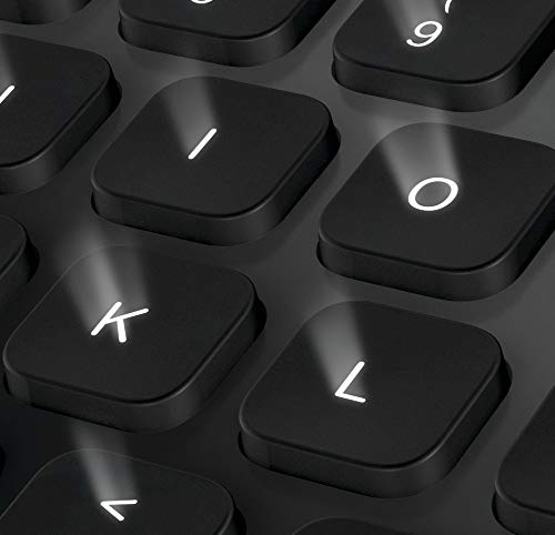 backlight on a keyboard on logitech K810