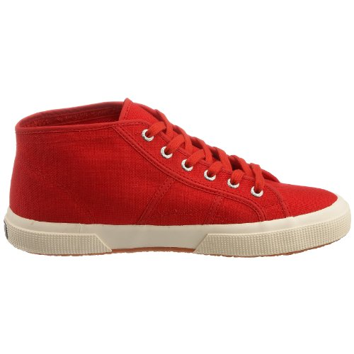 Rouge Superga Rouge adulte 975 mixte Baskets Cotu 2754 hautes qrwnP8FOq