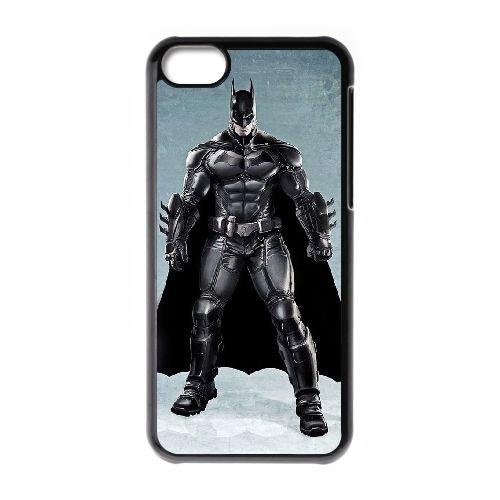 Batman coque iPhone 5C Housse téléphone Noir de couverture de cas coque EBDOBCKCO09875