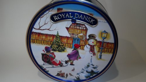 Royal Dansk Danish Cookies, Butter, 5 Pound