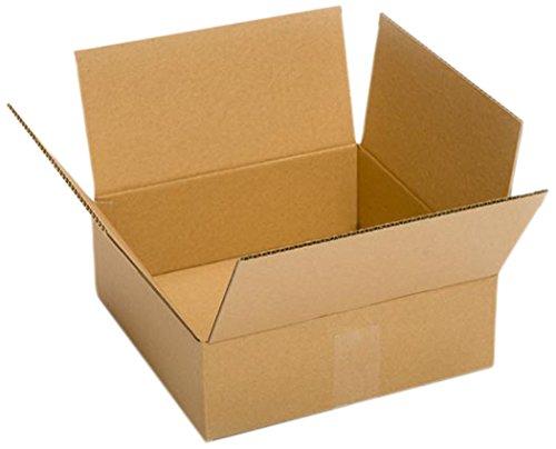 - Pratt PRA0054 50PK 100% Recycled Corrugated Cardboard Box, 12