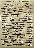 ワンコイン 世界的に有名な銃ポスタークラフト紙51x35.5cm [並行輸入品]