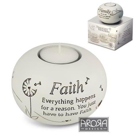 Said With Sentiment 7319 Sentiment Tealight Faith by Said with sentiment