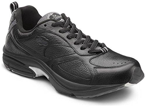 Dr. Comfort Winner Plus Men's Therapeutic Diabetic Extra Depth Shoe: Black 11 X-Wide (3E/4E) Lace by Dr. Comfort