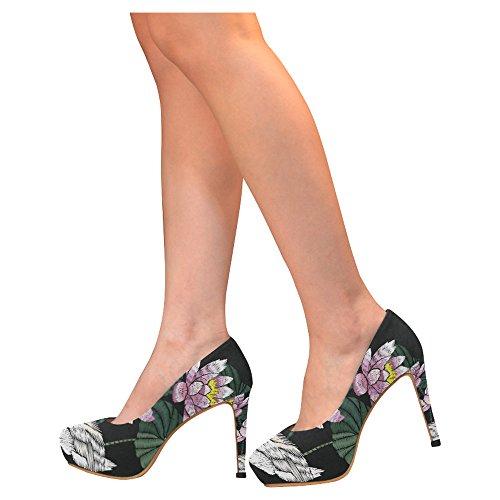 Multicolored33 Stiletto Sexy High Heel Womens Shoes Pumps D Story Flamingo TqU1AgA