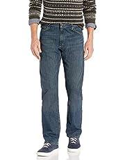 Wrangler Mens ZM300 Straight Leg Jean Jeans - Blue