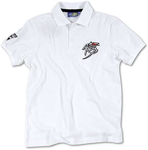 VR46 Kevin Schwantz 34 MotoGP Mens Polo Top - White-S: Amazon.es ...