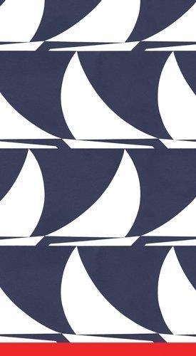 Caspari – Servilletas de Papel para Invitados Toallas, Diseño de Barcos Azul Marino, Paquete