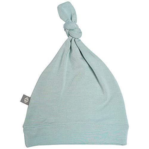 KYTE BABY Organic Bamboo Rayon Baby Beanie Hats - Super Soft Knotted Caps Available in Pattern and Solid Colors (3-6 Months, ()