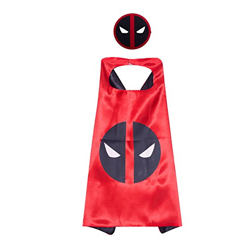 Superhero Capes and Masks for Kids Birthday Party