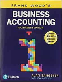 Frank Wood S Business Accounting Volume 1 9781292208626 Amazon Com Books