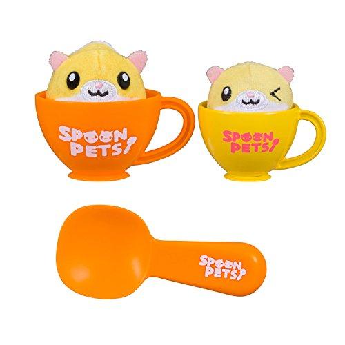 Spoon Pets Parent child Corn Hamster