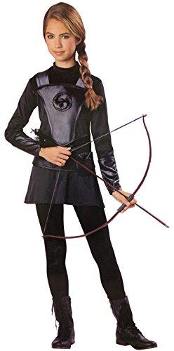 Katniss Costume Child (Warrior Huntress Costume - Large)