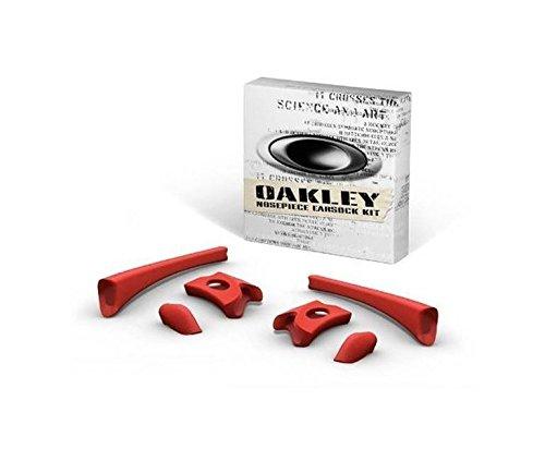 Oakley Flak Jacket Earsock/Nosepiece Kit (Red)